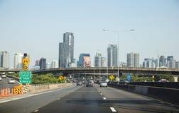 Scape éditorial de ville de Bangkok Image libre de droits
