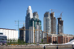 Scape города к Buenos Aires Стоковая Фотография