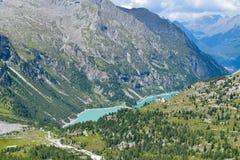 Scape alpin italien image libre de droits