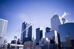 Scape Calgary de la ciudad Foto de archivo