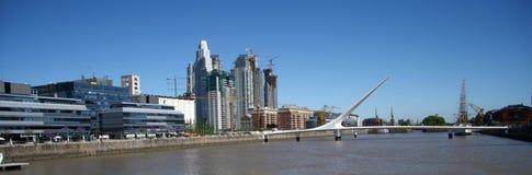 Scape da cidade a Buenos Aires Fotografia de Stock
