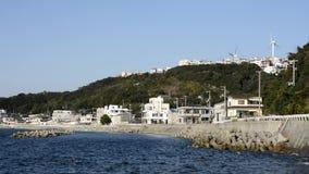 Scape da cidade do litoral video estoque