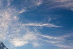 Scape de ciel de cirrus photos stock