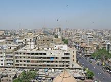Scape de la ciudad de Karachi foto de archivo libre de regalías