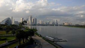 Scape de la ciudad de Singapur Imagen de archivo libre de regalías
