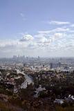 Scape de la ciudad del valle de Los Ángeles Fotografía de archivo