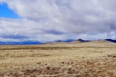 Scape de terre du Nouveau Mexique images libres de droits