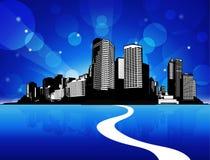 Scape de ville Photo libre de droits