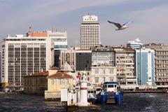 Scape de ville d'Izmir Images libres de droits