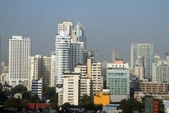 Scape de ville de Bangkok photographie stock libre de droits