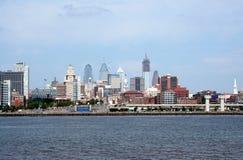 Scape de ville de bord de mer Photo stock