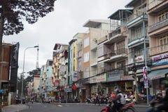 Scape de ville de Dalat Image libre de droits