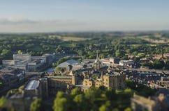 Scape de ville de Durham Image libre de droits