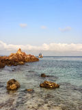 Scape del mar Imágenes de archivo libres de regalías