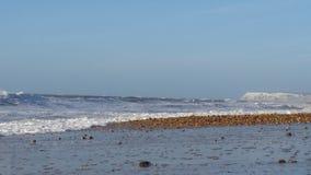 Scape del mare di inverno Immagini Stock