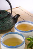 Scape del té Fotografía de archivo
