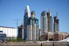 Scape della città a Buenos Aires Fotografia Stock