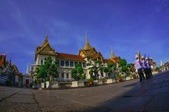 Scape della città di Bangkok Immagine Stock Libera da Diritti