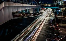 Scape della città di Bangkok Fotografia Stock Libera da Diritti