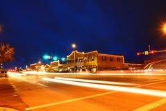 Scape di notte della città immagini stock libere da diritti