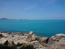 Scape do mar de Samui imagem de stock royalty free