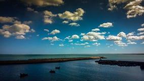 Scape ELJADIDA моря стоковое изображение rf