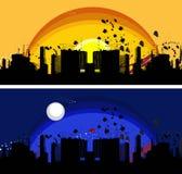 scape grunge города иллюстрация вектора
