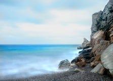 Scape soñador del mar imagen de archivo