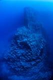 Scape volcánico subacuático Fotografía de archivo