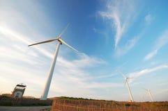 scape windpower Στοκ φωτογραφία με δικαίωμα ελεύθερης χρήσης