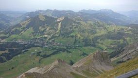 Scapes della montagna Fotografia Stock
