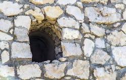 Scappatoia nella fortezza Immagini Stock