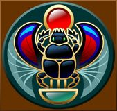 scarabée Photographie stock