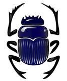Scarabée de scarabée Images libres de droits