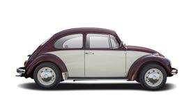 Scarabée de VW de couleur du classique deux Image stock