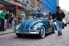 Scarabée Gumball 3000 de VW Photographie stock libre de droits