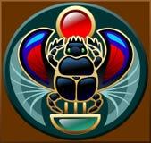 scarab Ilustração Stock