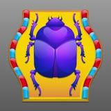 Scarab beetle Stock Photography