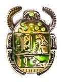 Scarab com gemas imagens de stock