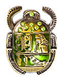 Scarab with gems Stock Images
