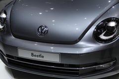 Scarabeo di VW su 64rd IAA Immagini Stock