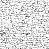 Scarabocchi di Kafka Immagine Stock Libera da Diritti