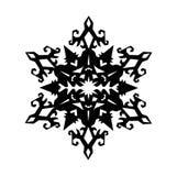Scarabocchio dei fiocchi di neve Christnas Illustrazione di vettore Illustrazione Vettoriale