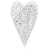 Scarabocchio del cuore Immagine Stock Libera da Diritti
