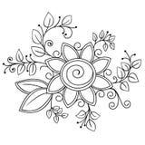 Scarabocchio disegnato a mano impreciso Fotografia Stock Libera da Diritti