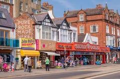 Scarborough, северный Йоркшир, Англия Стоковое Изображение