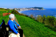 Scarborough Bay. Royalty Free Stock Photography