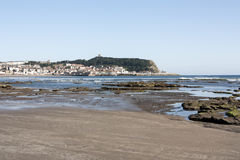 Scarborough Beach. The beach at Scarborough with cliffs in background Royalty Free Stock Image