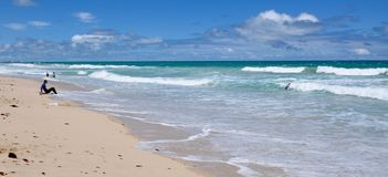Scarborough Beach Coastal Scene, Western Australia Royalty Free Stock Photos