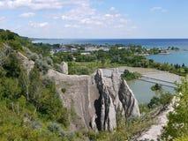 Scarborough Bluffs Στοκ εικόνες με δικαίωμα ελεύθερης χρήσης